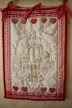"""Tea towel quilt """"La Patisserie"""""""