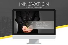 Innovation PowerPoint Template by PresentationDeck on @creativemarket