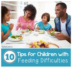 Tips and Strategies to help children with Feeding Difficulties