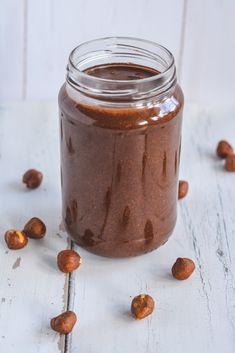 cukormentes nutella - sugarfree dots Nutella, Fitt, Sugar Free, Paleo, Low Carb, Gluten, Pudding, Snacks, Vegan