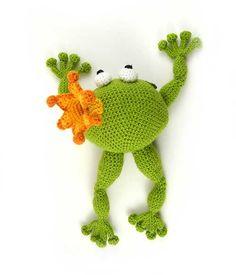 Frog Prince Amigurumi Pattern