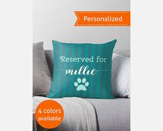 Personalized Reserved Pet Pillow - POWS01