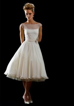 Fifties wedding dress