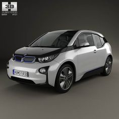 BMW i3 2014 3d model from humster3d.com. Price: $75