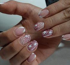 French Manicure Nail Designs, Nail Manicure, France, Nail Art Designs, Short Nails, Nail Decorations, Nails, Hands, Ongles