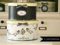 Vintage Boxen ❧ LES ANGES PETITS