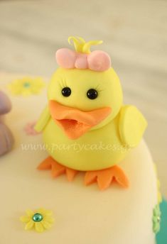 Workshop Easter Cake by Party Cakes By Samantha, via Flickr