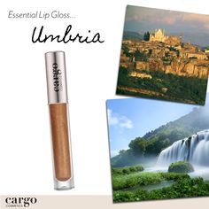 "This region of Italy is full of natural beauty which is why it's nicknamed the ""Green Heart of Italy.""  Meet the bronze lip gloss named after Umbria."