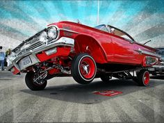 1960 Chevy Impala Lowrider, what a beauty Chevrolet Impala, Impala Car, 1960 Chevy Impala, Chicano, 64 Impala Lowrider, Gta, 1996 Impala Ss, Arte Lowrider, Convertible