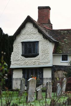 The Ancient House is one of the best known houses in Suffolk.