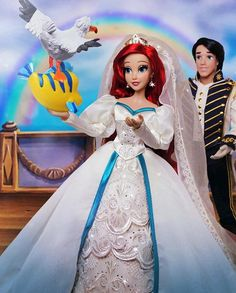 Princesa Ariel Disney, Disney Princess Aurora, All Disney Princesses, Disney Princess Dolls, Disney Dolls, Disney Pixar, Disney Nerd, Disney Movies, Walt Disney