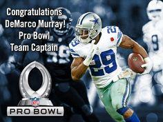 Congrats DeMarco #DallasCowboys #ProBowl