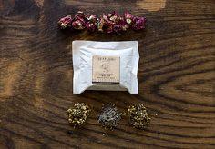 Organic Bath Tea Relax Bath Tea Chamomile by SkippyjaneNaturals