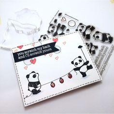 Panda-pandamonium! With #mamaelephant #pandamonium