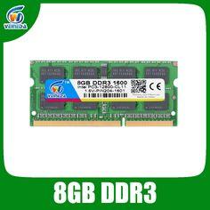 DDR3 8 기가바이트 Ram Sodimm ddr 3 4 기가바이트 1600 1333 인텔 amd 노트북 ram 메모리 브랜드의 새로운 평생 보증 무료 배송