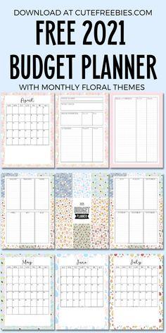 Monthly Budget Printable, Budget Planner Template, Monthly Budget Planner, Free Planner, Planner Pages, Printable Planner, Free Printables, School Planner, Teacher Planner