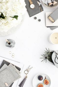 Styled Stock Photography Gray Desk Collection #13