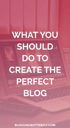 Get a list of everything you need to do while creating your blog to make sure it's successful. Read this and more blogging tips for beginners: https://bloggingbutterfly.com/create-your-blog/?utm_source=pinterest&utm_campaign=do_while_creating&utm_medium=group_boards_link&utm_content=image1