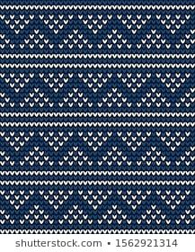 Similar Images, Stock Photos & Vectors of Seamless Fair Isle Knitted Pattern. Festive and Fashionable Sweater Design - 230600785 Fair Isle Knitting Patterns, Fair Isle Pattern, Sweater Knitting Patterns, Knitting Charts, Knit Patterns, Fair Isle Chart, Bead Crochet Rope, Hand Embroidery Designs, Sweater Design