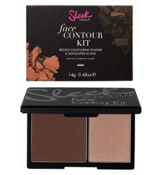 Sleek MakeUp Face Contour Kit- Duo contour and bronzing kit - Boots