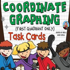 Coordinate Graphing Task Cards {First Quadrant} $