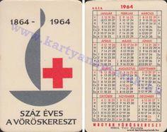 1964 - 1964_0157 - Régi magyar kártyanaptárak Pocket Calendar, Retro, Cards, Pockets, Pocket Diary, Maps, Retro Illustration, Playing Cards