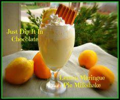 Just Dip It In Chocolate: Lemon Meringue Pie Milkshake