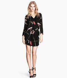 Floral dress. H&M. #PARTYINHM