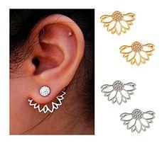 6795162d9685c 138 Best Hoop Earrings images in 2018 | Earrings, Studs, Diamond ...