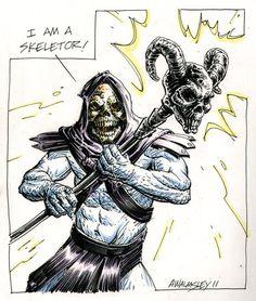 Skeletor - MOTU - Adam Walmsley