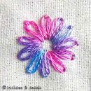 Sarah's Hand Embroidery Tutorials: picture dictionary with detailed instructions