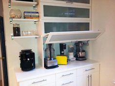 Orden en la cocina: Oculta los electrodomésticos pequeños