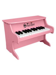 As a recovering classical musician, I had to get my 16 month-old daughter a piano. For $79.00 this beauty rock 'n rolls. Even better: seeing our daughter play the piano with her elbows and knees. I love music!