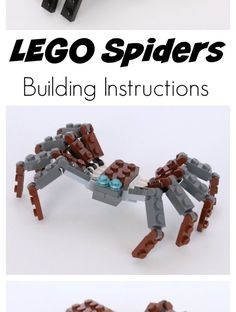 Lego building challenges and fun activities for kids using Lego bricks. Lego Projects, Fun Activities For Kids, Lego Building, Lego Brick, Lego Ideas, Spiders, Legos, Summer Fun, Frugal