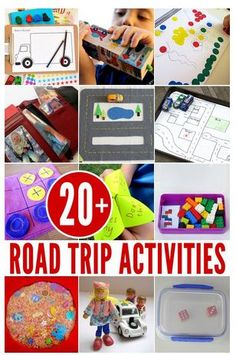 20+ Road Trip Activity Ideas -pinned by @PediaStaff – Please Visit ht.ly/63sNtfor all our pediatric therapy pins