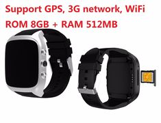 Cheap Smart Watches, Buy Directly from China Suppliers:ELECTSHONG Android 5.1 Smart Watch Smartwatch Wristwatch 1.3GHz 8G ROM 512 RAM 3G SIM WiFi Sport Fitness 2MP Camera GPS Watch