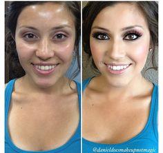 Southern CA freelance makeup artist, Daniel Marrone's, pretty bridal look. (Danielmua2012@gmail.com & IG: danieldoesmakeupnotmagic)