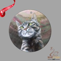 FASHION NECKLACE HAND PAINTED CAT SHELL PENDANT ZP30 01126 #ZL #PENDANT