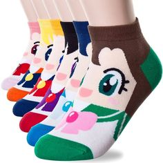 Have the Sailor Scouts band together to remodel your sock drawer. Each pair of these cotton socks will transform your feet into a cute and stylish Sailor Moon character that's perfect for everyday wear!
