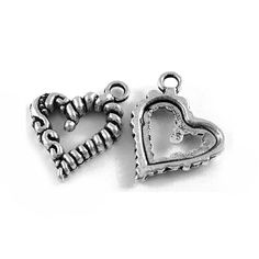 No of Pieces 10 xMain Colour Antique SilverMaterial TibetanSize 17mmShape Charms Pendants Heart Additional Info Free of Lead Nickel and