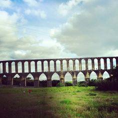 Pegões Aqueduct, just outside Tomar.