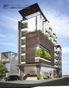 Residential Building Design, Office Building Architecture, Building Facade, Building Exterior, Facade Architecture, Residential Architecture, Hotel Design Architecture, Facade Design, Exterior Design
