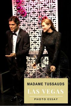 Madame Tussauds, Las Vegas, USA - photos of famous personalities (actors, politicians, etc.) and interesting information included in this travel article.