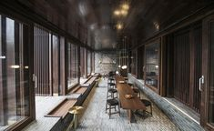 Chinese architecture firm Neri&Hu have designed the Tsingpu Yangzhou Retreat, a boutique hotel crafted from reclaimed brick, and built around a series of small lakes. Yangzhou, Chinese Architecture, Interior Architecture, Concept Architecture, Futuristic Architecture, Boutique Design, A Boutique, Boutique Hotels, Terrazzo