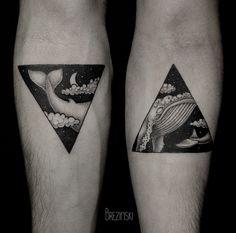 Dot work tattoos by Ilya Brezinski