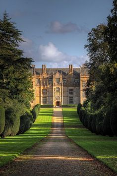 The amazing and majestic Montacute. The Palmers' house in Sense & Sensibility.