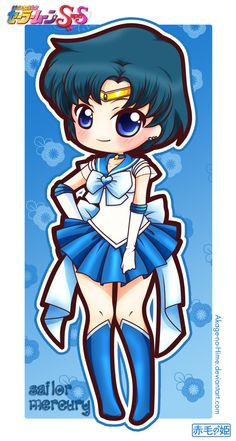 Sailor Moon Super S - Sailor Mercury by Akage-no-Hime on deviantART