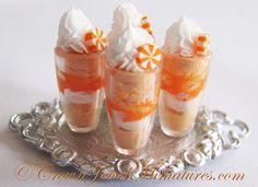 Orange creamsicle parfaits