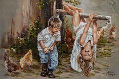 M19015 Jy is onderste bo! - House Of Maria ZA Beautiful Drawings, Beautiful Artwork, Classic Paintings, Art Paintings, Art Google, Canvas Art Prints, Art For Kids, Original Artwork, Fine Art