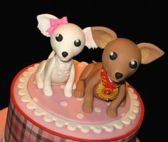 fondant chihuahua cake - Hledat Googlem